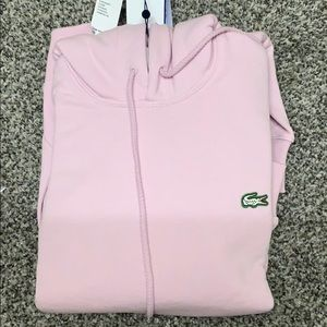 Lacoste Tops - NWT Urban outfitters Lacoste pullover hoodie  XS